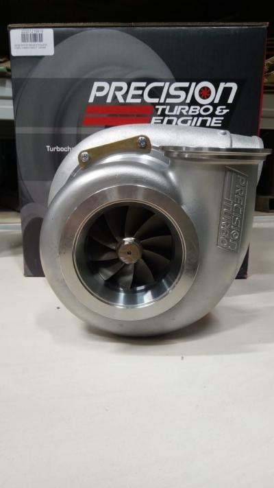 Precision Turbo Турбина R/R GEN2 7675 HP BB W/ STAINLESS STEEL V-BAND IN/OUT 1.00 A/R Фото